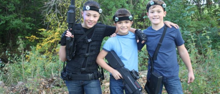 introduction of the laser tag games
