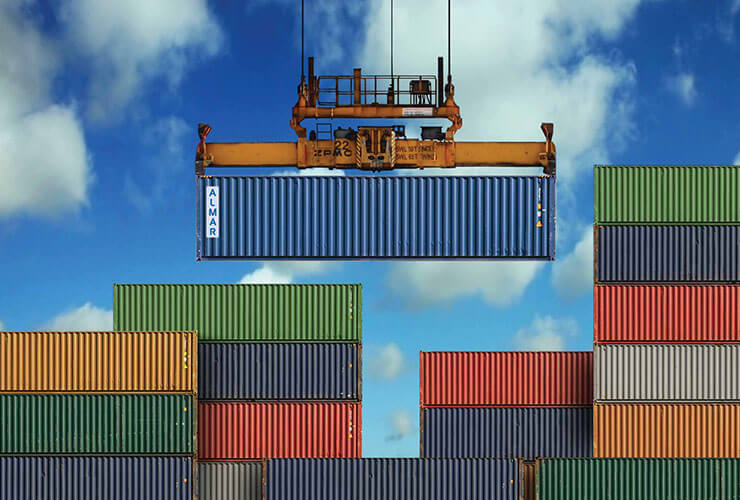 manufacturing of the cargo containers