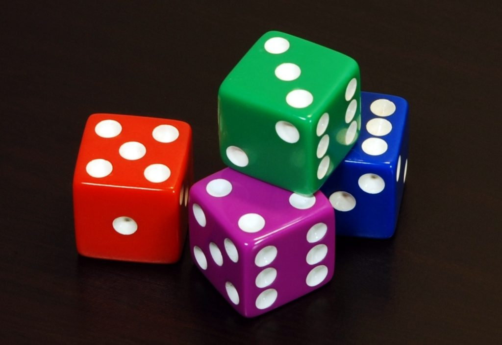 the dice will continue to roll until the point value comes back again or a seven (7).