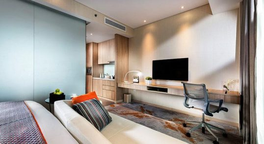 serviced apartment near bugis